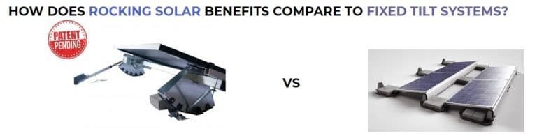rocking solar benefits compared to fixed tilt systems